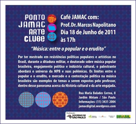 Café JAMAC com Dr. Marcos Napolitano