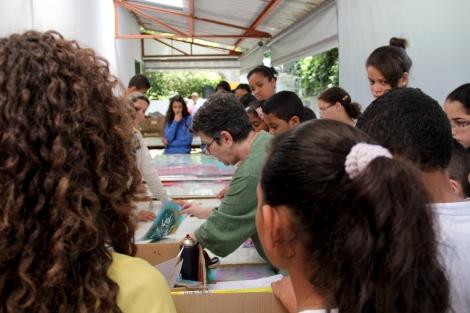 18/10/13 - Alunos do EMEF Prof Amélia Rodrigues de Oliveira