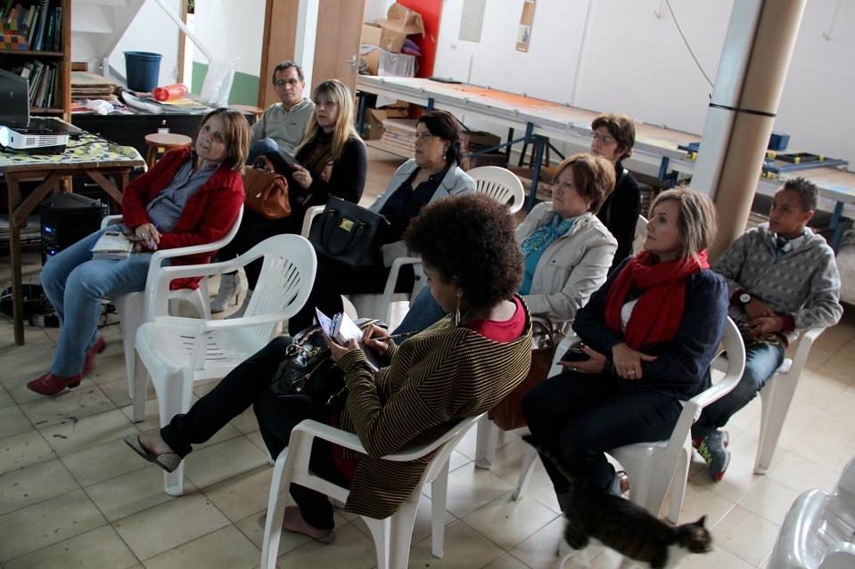 01/11/13 - Equipe da Secretaria Municipal da Educaçao São Jose dos Campos